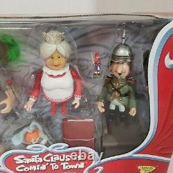 Santa Claus Is Comin To Town Action Figure Trio Memory Lane Burgermeister Coming