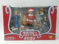 Santa Claus Is Comin To Town Action Figure Trio Set Jessica & Kris Kringle