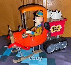 Santa Claus Is Comin To Town North Pole Mail Truck Memory Lane Christmas Toy
