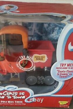 Santa Claus Is Comin To Town North Pole Mail Truck & S. D. Kluger MIB Works