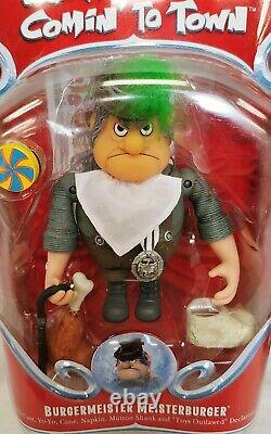 Santa Claus Is Comin' To Town Rankin & Bass Action Figures Lot Of 12