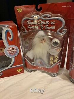 Santa Claus Is Comin To Town figures -New NIB Lot of 6 RARE