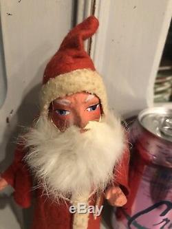 Santa Claus Saint Nickolas 1920's Vintage German Christmas Candy Container
