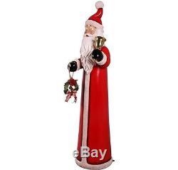 Santa Claus Skinny Christmas Statue Free Ship LM Treasures