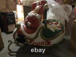 Santa Claus Sleigh Blow Mold Geberal Foam Plastics