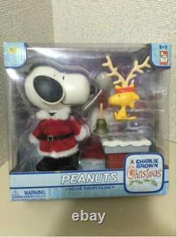 Santa Claus Snoopy Christmas figure Peanuts