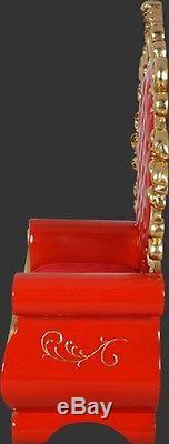 Santa Claus Throne Chair Christmas Chair Life Size Prop Display Free Ship