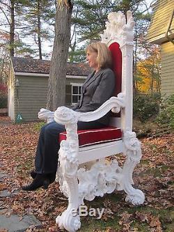 Santa Claus Throne Chair Custom Full Size Prop