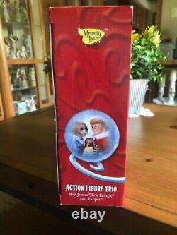 Santa Claus is Comin' Coming to Town Figure TrioMemory LaneJessica & KrisNIB