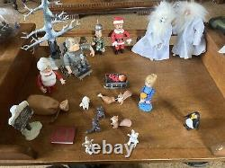 Santa Claus is Comin' Coming to Town Loose Figures-Winter, Kris, Tanta, Topper More