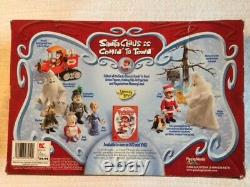 Santa Claus is Comin to Town WINTER'S REFORM Figure Set of 3 Topper, Kringle