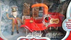 Santa Claus is Coming to Town North Pole Mail Truck with S. D. Kluger figure