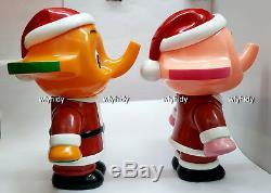 Sato Chan Satoko Chan Christmas Santa Claus Figure Coin Bank Rare Collectible