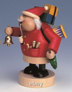 Smoking Figure 7 1/8in Santa Claus New Smoke Character Figur Smokers Smoking Man