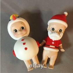 Sonny Angel Mini Figure Christmas Series Santa Claus 2006 & Snowman 2008