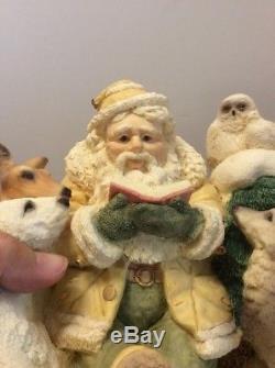 Story Of Christmas Victorian Legend Of Santa Claus Wolf Bear Owl Ken Memoli
