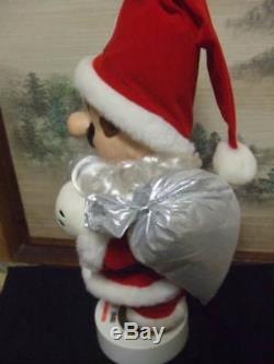 Super Mario World Mario Santa Claus Doll figure Nintendo Bros vintage