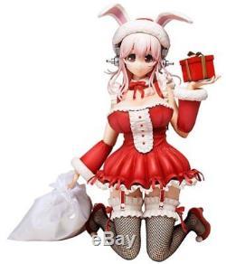 Super Sonico Nitro Super Sonic Plus Japan Anime Figure Santa Christmas Ver JP