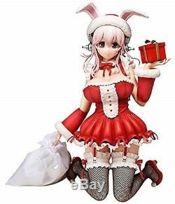 Super Sonico Nitro Super Sonic Plus Japan Anime Figure Santa Christmas Ver USED