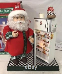 Telco Animated Santa Claus SANTA'S MIDNIGHT SNACK Motion-ettes of Christmas
