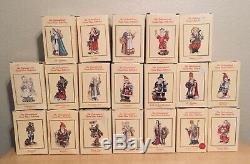 The International Santa Claus Collection Large Lot Of 19 Figures Christmas 1990s