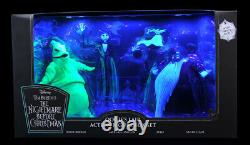 The Nightmare Before Christmas Deluxe Box Set 7 Figure SDCC 2020 Oogie Lair