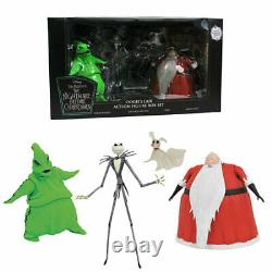 The Nightmare Before Christmas Deluxe Box Set 7 Figure SDCC 2020 Oogie Lair DST