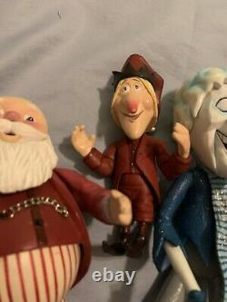 The YEAR WITHOUT A SANTA CLAUS Snow Miser(3), Jangle, And Santa