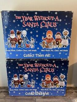 The Year Without A Santa Claus 2 Pc Set Snow Miser Heat Miser Media Play
