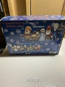 The Year Without A Santa Claus Figure Set. Heat Miser, Mrs Claus and Jingle