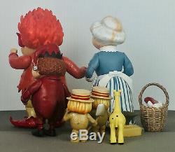 The Year Without A Santa Claus, Mrs. Claus, Heat Miser, Jingle, Action Figures, Used