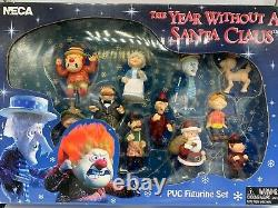 The Year Without A Santa Claus PVC Figure Set Rankin Bass IOB