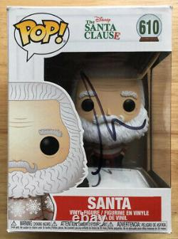 Tim Allen Signed Autographed The Santa Clause Funko Pop #610 Vinyl Figure! Santa