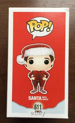 Tim Allen Signed The Santa Clause Funko Pop 611 Figure Santa With Lights! Rare