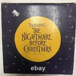 Tim Burtons The Nightmare Before Christmas Santajack And Zero Resin Figurine
