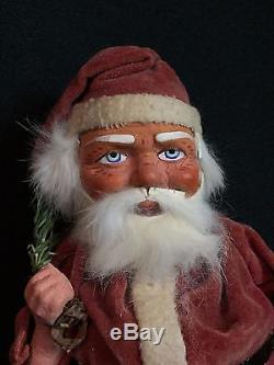 Title EARLY GERMAN SANTA CLAUS COMPOSITION CANDY CONTAINER