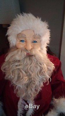 Ultimate life size vintage Santa Claus