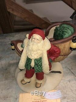 United Design The Legend of Santa Claus Starlight Express USA COA box