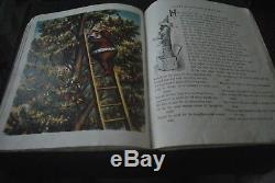 VICTORIAN McLOUGHLIN BROS CHRISTMAS BOOK, SANTA CLAUS & HIS WORKS, ARTIST NAST