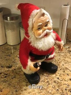 VINTAGE The Rushton Company18 Coca Cola Santa Claus Made in USA