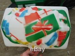 VTG General Foam Santa Claus Christmas Holiday Train & Present Tender Blow Mold
