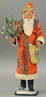 Very Fine Detailed Store Display German Santa Claus circa 1900