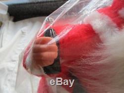Vintage 1950s' Coca-Cola Rushton Coca-Cola Santa Claus 18 Doll STILL SEALED