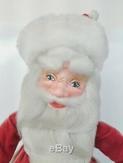 Vintage 27 Mechanical Santa Claus Store Display Window Animated Harold Gale