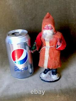 Vintage Christmas Santa Claus Candy Container Germany 1920s