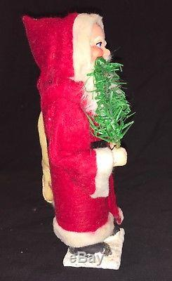 Vintage German Santa Claus Candy Container Figure