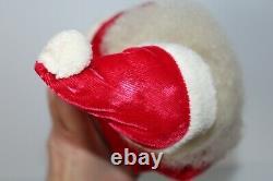 Vintage Harold Gale Large 14 Santa Claus Christmas Vinyl Face Figure Decoration