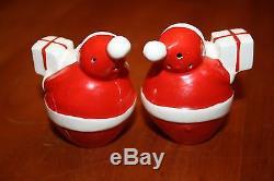 Vintage Holt Howard Santa Claus Candelabra and Salt & Pepper Shakers in the Box