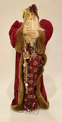 Vintage Large Free Standing Santa Claus Christmas Holiday Decor 48H 4'H