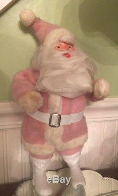 Vintage Pink ORIGINAL Harold Gale Mary Kay Santa Claus 15